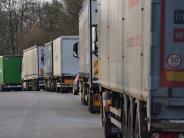 Gersthofen/Neusäß: Diebe stehlen 700 Liter Diesel und zehn Busreifen samt Felge