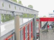Augsburg-Göggingen: Einsturzgefahr am Parkhaus gebannt