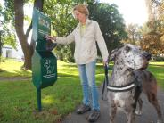 Augsburg: Wenn Dogge Viva mal muss
