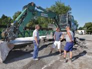 Göggingen: Langwierige Rettung der Wertachbrücke