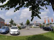 Augsburg: Der geometrische Schwerpunkt liegt auf einem Parkplatz