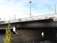 Augsburg-Stadt: Die Brücke zum Hotelturm
