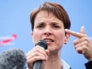 Augsburg: OB Gribl stellt Ultimatum: Gilt ab Montag ein Hausverbot für Petry?