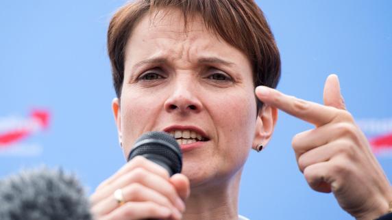 Frauke Petry: AfD und Gegenveranstaltungen: Das passiert heute in Augsburg