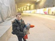 Zeitungsente: Ein Ausflug tief unter den Hauptbahnhof
