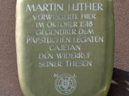 Jubiläum: Augsburg wirbt mit Luther