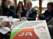 Bürgerbegehren in Augsburg: Initiatoren sind auf Unterschriftenfang