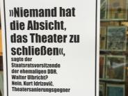 Theater Augsburg: Plakate gegen Buchhändler: Streit über Theater wird persönlich