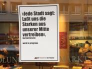 Kommentar: Plakate gegen Sanierungskritiker: Eine schädliche Aktion