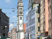 : Rathaus mit Poster vom Rathaus