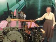 Augsburg: Dreharbeiten mit 105-jähriger Weberin