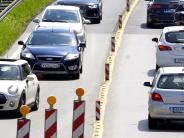 Augsburg: Achtung Autofahrer: Auf der B17 wird es an zwei Stellen eng