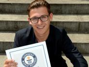 Augsburg: Warum der 22-jährige André Ortolf Weltrekorde sammelt