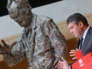 SPD: Sigmar Gabrielhadert mit der SPD
