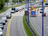Augsburg: Auffahrunfälle auf der B17 sorgen für erhebliche Staus