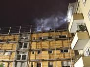 Feuerwehr: Brand im Mehrfamilienhaus
