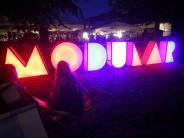 Festival in Augsburg: Modular in Bildern: Wild feiern und gemütlich chillen