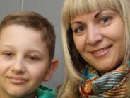 Augsburg: Leukämiepatient Nikolai kann wieder lächeln
