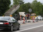 Augsburg: Autofahrer brauchen auf der B17 die doppelte Zeit