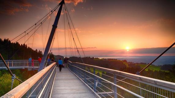 Outdoor & Natur erleben: Integratives Naturerlebnis - Skywalk Allgäu feiert fünfjähriges Bestehen