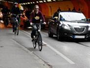 Augsburg: Pferseer Tunnel: Gefährliche Stelle für Radler wird entschärft