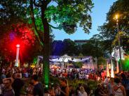 """Augsburg: Fotos, Video, Eindrücke: Spazieren Sie mit uns über die """"Sommernächte"""""""