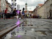 Sommernächte 2017: Feiert Augsburg am Wochenende mit nassen Füßen?