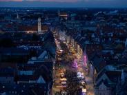 Augsburg: Nach dem Regen locken die Sommernächte in die Innenstadt
