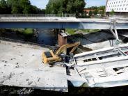 Leichte Sprache: Eine Brücke in Augsburg geht kaputt