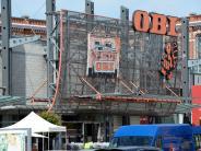 Textilviertel: Pläne für Wohnungen auf Obi-Areal werden konkreter