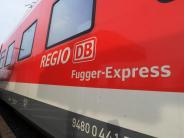 Bahn: Kostenloses WLAN im Regionalzug: Der Test im Fugger-Express