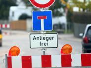Augsburg: Auf diese Baustellen und Sperrungen müssen sich Augsburger einstellen