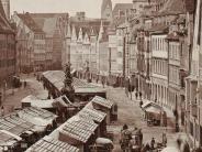 Augsburg: So sah Augsburg vor rund 150 Jahren aus