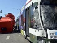 Augsburg: Der Städtevergleich: Gibt es in Augsburg zu viele Tram-Unfälle?