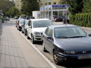 Augsburg: Radstreifen auf Probe