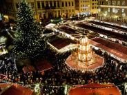 Augsburg: Augsburg: Christkindlesmarkt auf dem Rathausplatz 2016