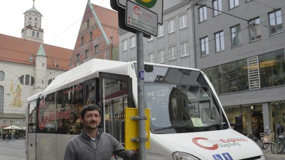 Augsburg: City-Galerie: Shuttle-Bus droht das Aus