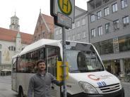 Augsburg: Dem Shuttle-Bus der City-Galerie droht das Aus