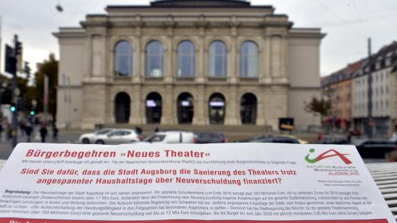 """Theater: So begründet die Stadtjuristin ihr """"Nein"""" zum Bürgerbegehren"""