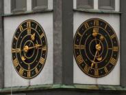 Augsburg: Perlachturm: Wie spät ist es eigentlich?