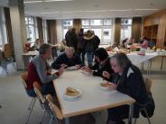 Evakuierung: Ein Besuch in der Notunterkunft Maria Stern