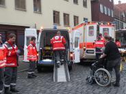 Fliegerbombe in Augsburg: Wie alte und kranke Menschen die Bomben-Entschärfung erlebten