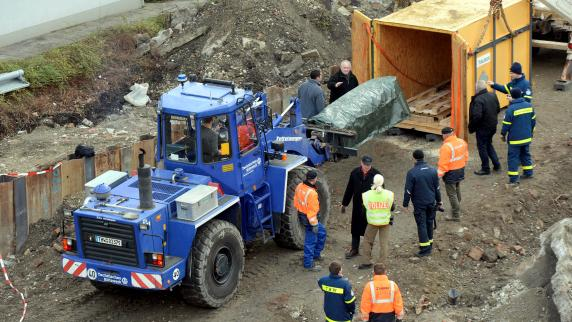 Augsburg: Die Bombe ist weg, die Nacharbeit beginnt