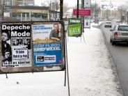 Augsburg: Augsburg reduziert Zahl der Plakate: Veranstalter sind empört