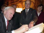 Ex-Bundespräsident: Roman Herzog lernte Augsburg erst als Privatmann kennen