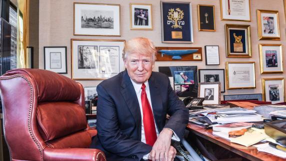 Neusäß: Wie Fotograf Daniel Biskup Donald Trump erlebte