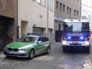 Augsburg: Gasgeruch: Feuerwehr rückt in Innenstadt an
