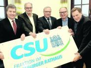 Kommunalpolitik: Zwei Abtrünnige kehren zur CSU zurück