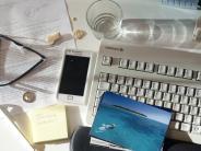 Erkältung: Hier lauern im Büro die Keime