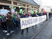 Augsburg: Hunderte Augsburger protestieren gegen Abschiebungen